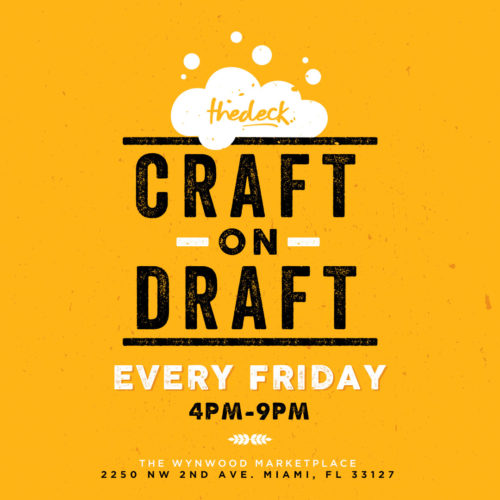 Craft-on-Draft-at-thedeck
